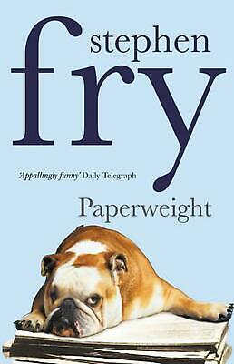 Paperweight by Stephen Fry Paperback Book Free Shipping!