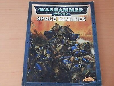 Warhammer 40K Space Marines -Codex Used Old Edition A