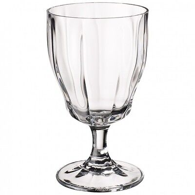 Villeroy & and Boch FARMHOUSE TOUCH water goblet glass 152mm NEW 1st quality