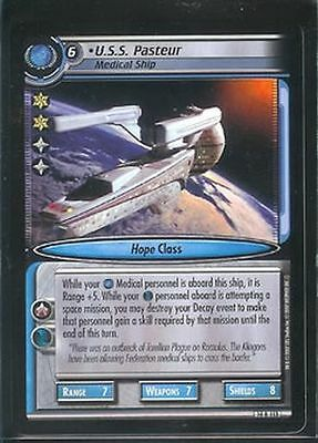 Star Trek CCG What You Leave Behind 14C94 D/'Nesh Manipulative Gift NrMint-Mint