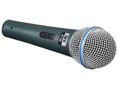 QFX M-158 Professional Dynamic Uni-Directional Microphone +Carrying case +Cable