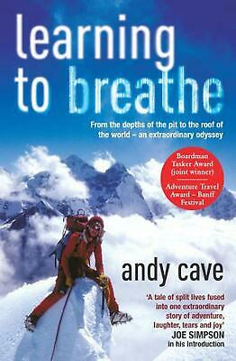 Learning To Breathe by Andy Cave (English) Paperback Book Free Shipping!