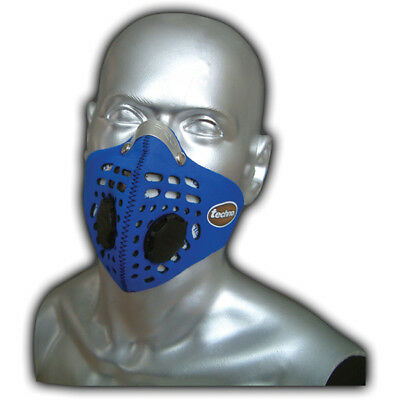 Respro Techno Anti-Pollution Bicycle Bike Cycle Cycling Face Mask Blue Medium