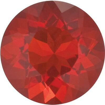 Natural Fine Cherry Red Mexican Fire Opal - Round - Mexico - Top Grade