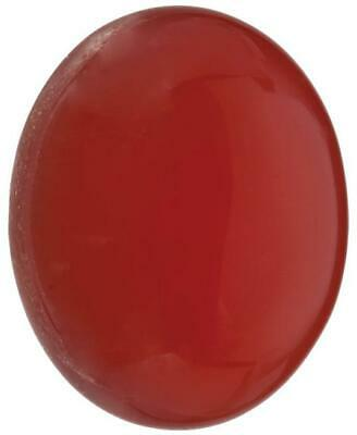 Natural Fine Orange Red Carnelian - Oval Cabochon - Uruguay - Top Grade