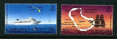 Kiribati 2001 Tourism Stamp Set