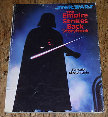 STAR WARS: THE EMPIRE STRIKES BACK STORYBOOK ~ 1980 SC softcover ESB