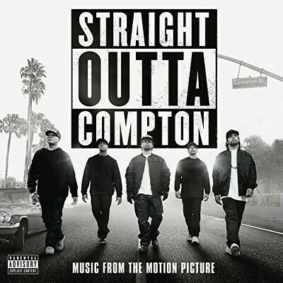 N.W.A - Straight Outta Compton (Music From the Motion Picture) [New CD] Explicit