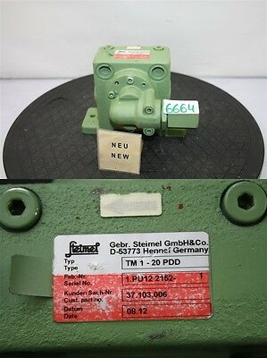 Steimel TM 1-20 PDD GEAR PUMP