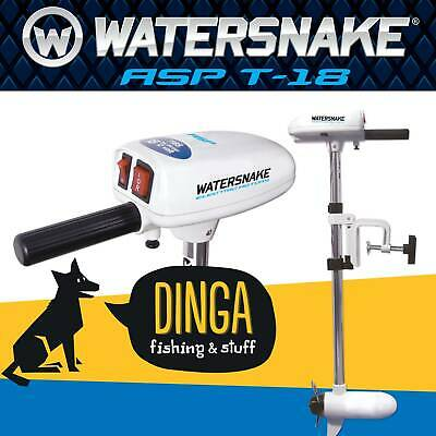 Watersnake ASP T18lb 24'' Shaft Saltwater Electric Kayak Motor