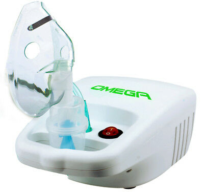 Nebuliser. Small Powerful Asthma Machine Compressor. 2-Year Australian Warranty.