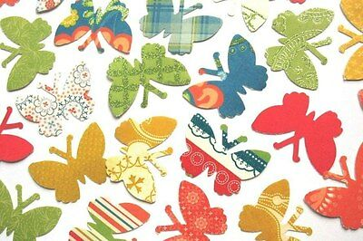 Cotton Bloom - DCWV Butterfly Die Cuts