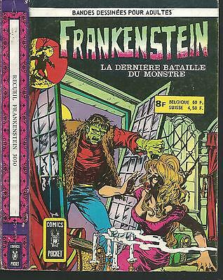 Recueil FRANKENSTEIN 1-2.Comics Pocket * CB26