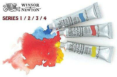 Winsor & Newton Professional Water Colour Tubes -5Ml/14Ml/ 96 Colours /series 2