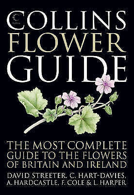 Collins Flower Guide (Britain and Ireland), Streeter, David, New