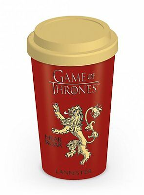 New Official Game Of Thrones (House Lannister) - Travel Mug By Pyramid Mgt22869