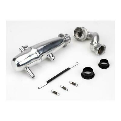 Dynamite DYNP5015 1/10 Revo Power Inline Exhaust System : Polished