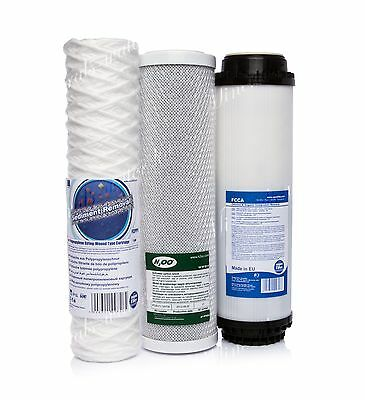 Set Of 1 Micron String•carbon Block•activated Filter•reverse Osmosis•replacement