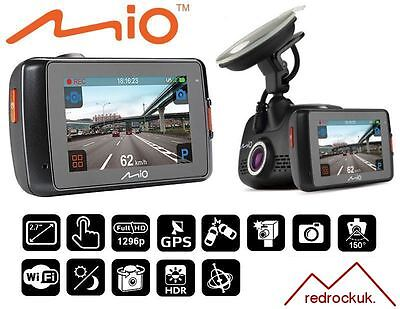 "Mio MiVue 658 Touch WiFi Extreme 1296p HD 2.7"" TouchScreen GPS Accident Recorder"