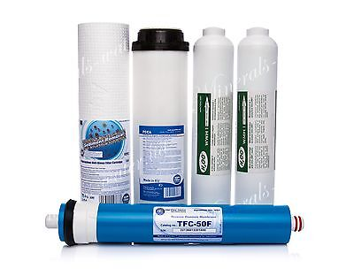 Complete Set Of Reverse Osmosis System•filters•replacement•carbon•50Gpd•