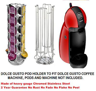 100% Stainless Dolce gusto coffee capsule holder stand Built to standard not pr