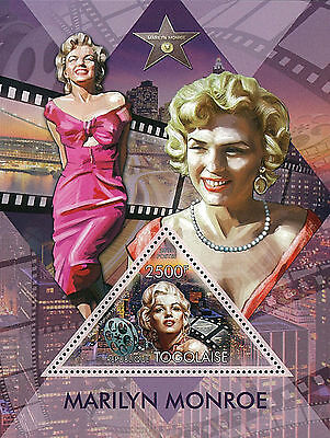 Togo 2013 Stamp, TG13035B Marilyn Monroe, American Actress, Model, Famous People