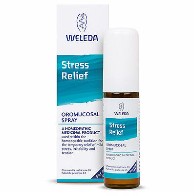 Weleda Stress Relief Spray for Oral Use 20ml - Natural Anxiety Tension Treatment