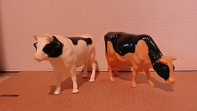 "8"" Vintage Nylint Cow & Bull - For Farm Trucks"