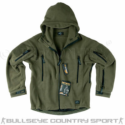 Helikon Patriot Cold Weather Hooded Fleece Olive Green Army Style