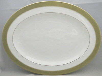 "Royal Doulton Belvedere 16"" Oval Serving Platter"