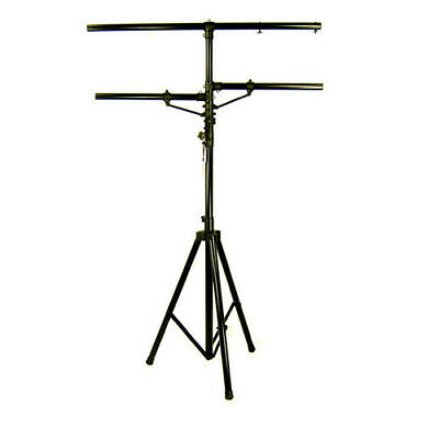 12 Ft DJ LIGHTING STAND 12 FOOT CLUB STUDIO LTS01 HEAVY DUTY T-BAR TRIPOD