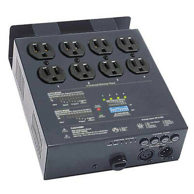 4 CH Analog DMX Dimmer Relay Pack stage lighting light
