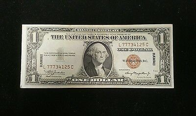 1935A One Dollar Hawaii Overprint War Time Currency