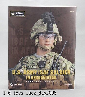 Crazy Dummy US ARMY ISAF SOLDIER IN AFGHANISTAN 1/6 Figure