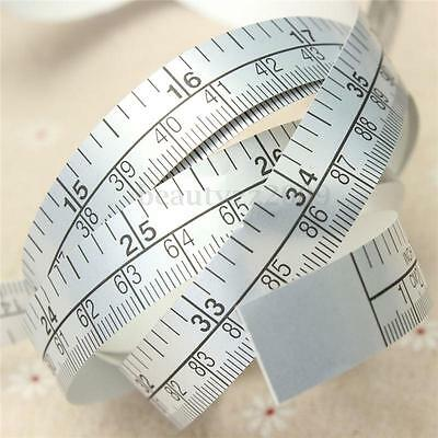 Vinyl Silver Self Adhesive Measuring Tape Ruler Sticker 150cm For Sewing Machine