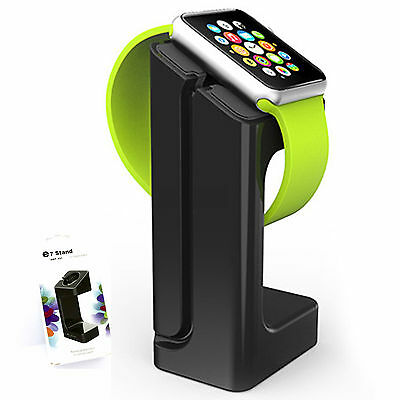 Dock for Apple Watch Charging cradle Black Charger Stand 38 42mm Holder