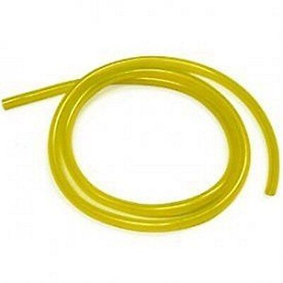 """Tygon Fuel Gas Line 1/4"""" ID X 3/8"""" OD / 10' roll clear yellow Ethanol Compatible"""