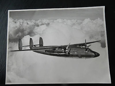 1949 Official Airspeed Photograph British European Airlines Ambassador Airplane