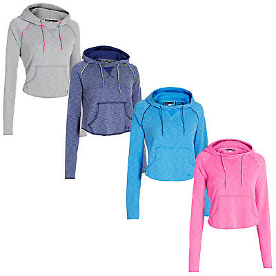 Under Armour Rollick Crop Hoodie - New Cotton Lightweight Short Gym Hoody Top