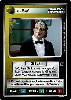 Star Trek CCG HA Holodeck Adventures The President of Earth 117R