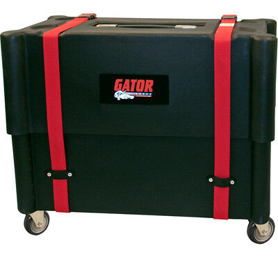 Gator Cases G-212-ROTO Amplifier & Stand Transporter Case With Pull Handles New