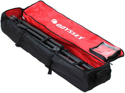 Odyssey BRLTMTSW New Mobile Tripod System Tote DJ Bag Redline Series W/ Wheels