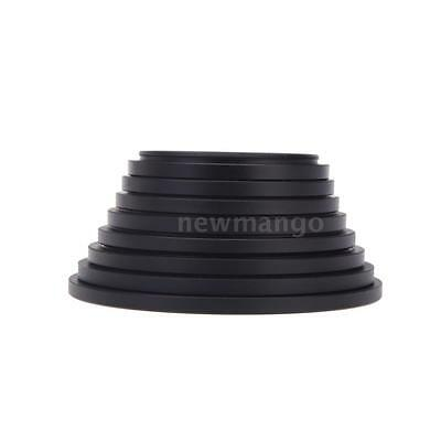 8pcs Filter Step Up Rings Adapter 49-52-55-58-62-67-72-77-82mm 49mm-82mm L2L4