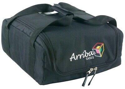 Arriba AC100 Padded Carrying Case Mobile Lighting Bag Works W/ All Brands New