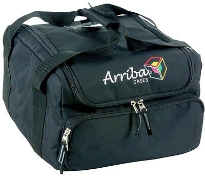 Arriba AC130 Padded Soft Case For Disco Equipment (Deco 250 Pocket Scan Dune)