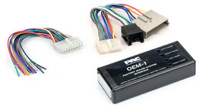 METRA RAP-FD-5014 70-5514 1989-2000 FORD PREMIUM SOUND OE AMP BYPASS HARNESS