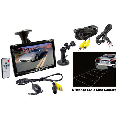 Pyle Car Audio PLCM7700 New 7 Inches Tft Lcd Video Monitor With Color Camera