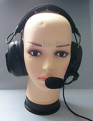 Heavy Duty Headset for Hytera Hyt PD705 PD785 Two Way Radios