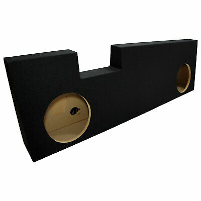 """2004-2013 Ford F350 Super Crew Truck Dual 10"""" Bass Stereo Subwoofer Sub Box New"""