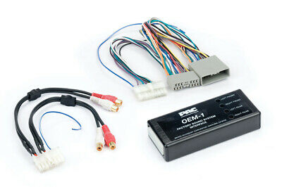 Pac AOEM-HON17 Honda Vehicles Plug In Install Amplifier Integration Interface